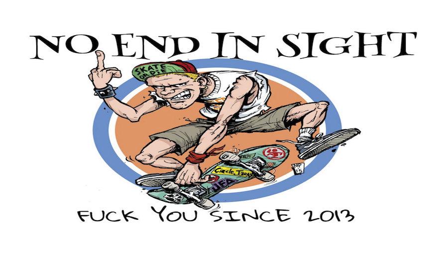 カナダケベックのポップパンクバンド「No End In Sight」のニューアルバムのプレオーダー開始!