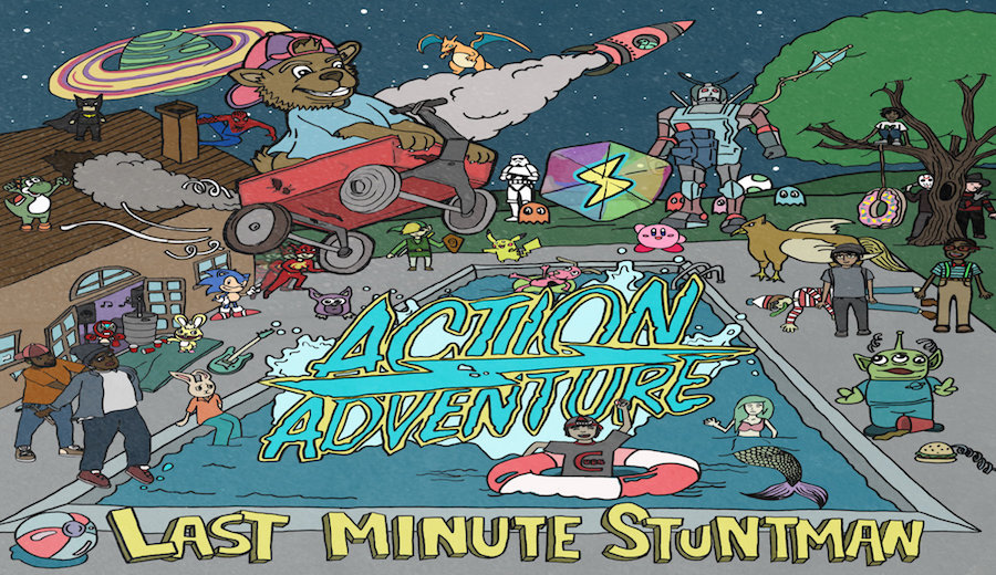 シカゴのポップパンクバンド「Action/Adventure」がニューEPをリリース!Settle Your Scores好きなら聞くべし!